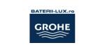 GROHE - baterii-lux.ro: Baterii baie Baterii bucatarie Accesorii baie Seturi dus Baterii sanitare