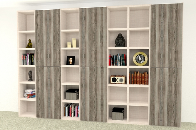 Bibliotecă living