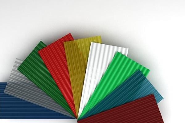 Placi ondulate din fibra de sticla