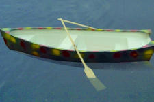 Barca din fibra de sticla