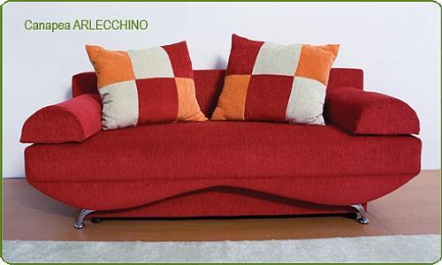 Canapele din materiale textil