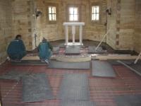 Montaj instalație de încălzire în pardoseală