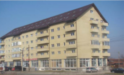 Constructie bloc de locuinte Fagaras P+4+M