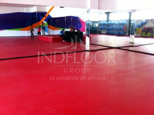 Covor PVC Grabo Sala fitness Timisoara
