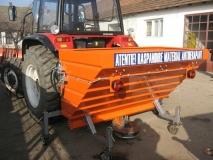 Perie de maturat pentru buldoexcavator