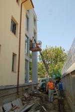 Montare paratrăsnet vila Ambasador Popescu București