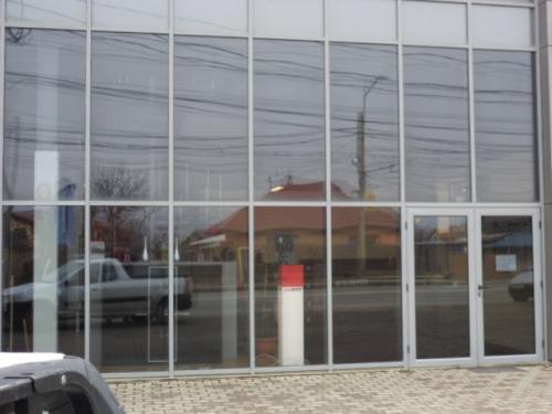 Perete cortină tâmplărie aluminiu