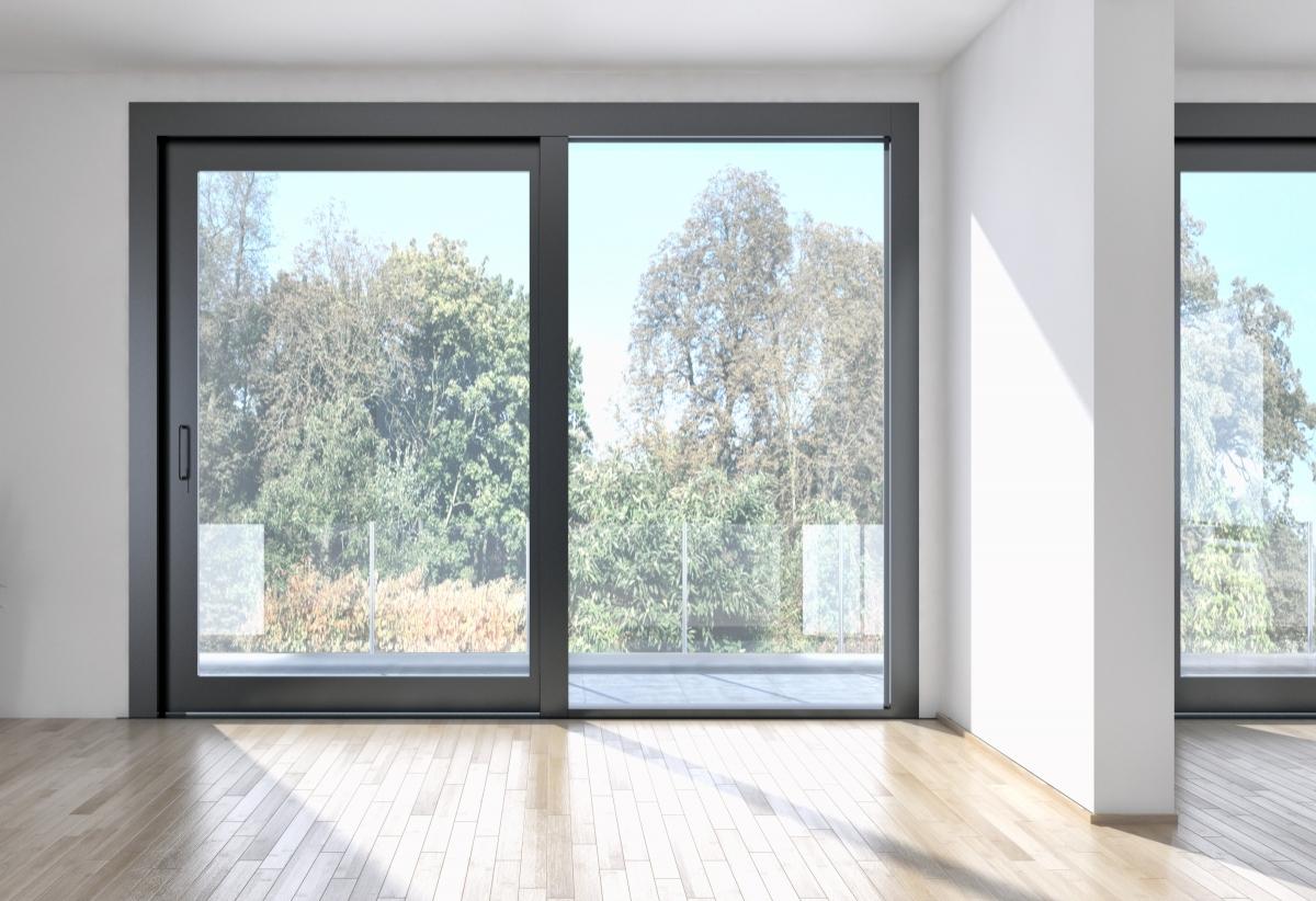 Sistem ferestre mixt lemn aluminiu
