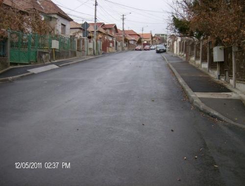 Refacere carosabil, trotuare si borduri