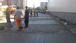Platforma betonata
