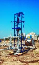 Sistem introducere tub capilar in sonda