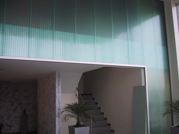 Luminator acoperis bicarbonat
