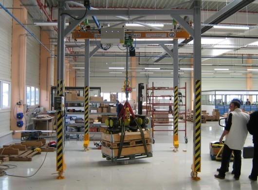 GD Masini de Ridicat - Poduri rulante - Macarale industriale - Platforme de ridicare marfa - Electropalane